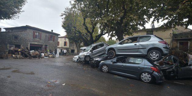 Les inondations dans l'Aude ont fait au moins 14 morts et provoqué des dégâts considérables dans les...