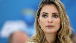 La première Dame du Brésil plonge pour sauver son