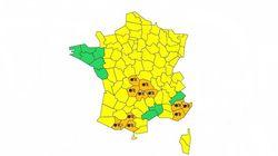 Onze départements placés en vigilance orange neige et