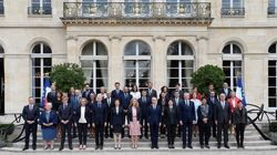 La nouvelle photo de famille du gouvernement d'Edouard