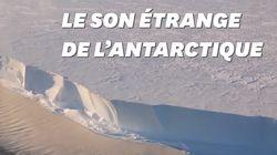 Ce son capté en Antarctique semble venir d'une autre