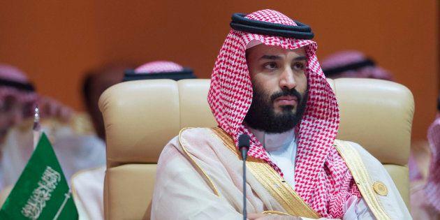 Mohammed Ben Salman, le prince saoudien, le 15 avril