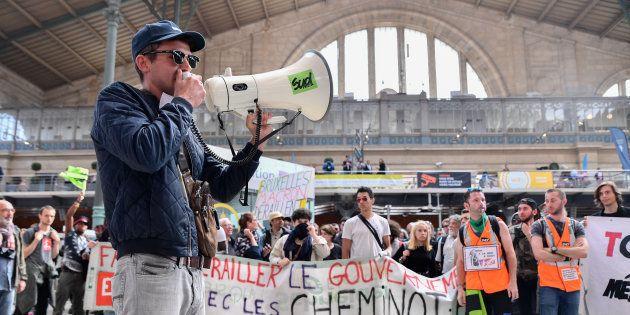 Grève SNCF: le taux de grévistes parmi les cheminots au plus bas depuis le début du