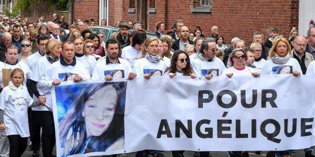 La marche du 1er mai à Wambrechies, en hommage à Angélique, 13 ans, violée et tuée le 25