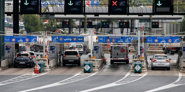Des péages pourront bientôt être installés à l'entrée des villes (Image d'illustration: un péage sur