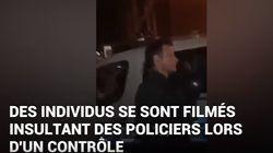 Cette vidéo de policiers insultés pendant un contrôle indigne les syndicats de
