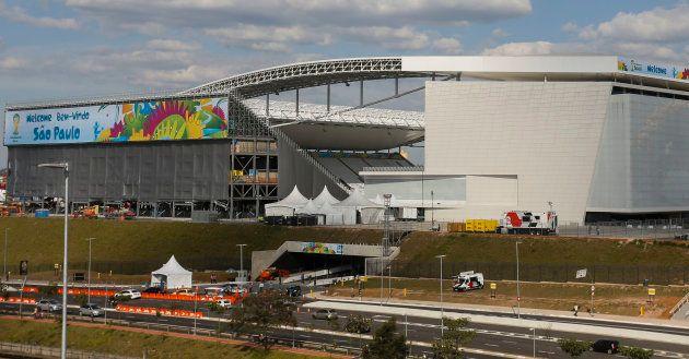 Tirage au sort de la Coupe du Monde 2018: la France jouera dans l'Ekaterinbourg Arena, le stade à l'échafaudage