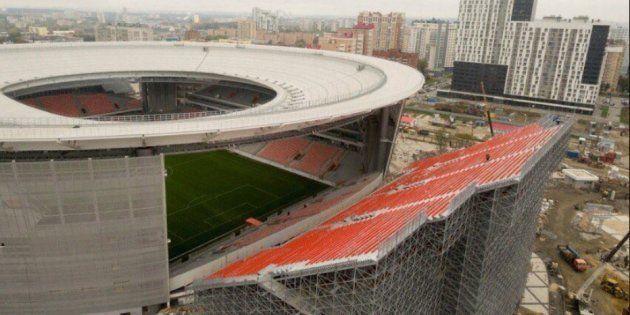 L'Ekaterinbourg Arena (stade qui hait hurler les supporters) accueillera la