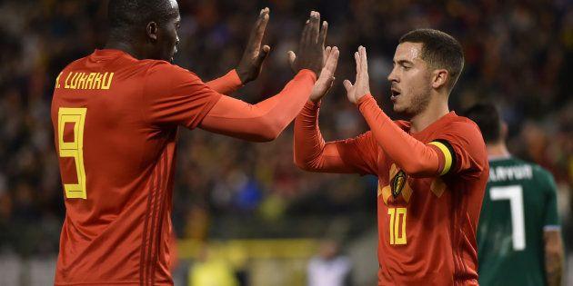 Romelu Lukaku et Eden Hazard joueront contre la Tunisie à la Coupe du monde