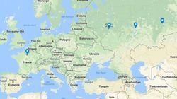 Ce périple de 7827km qui vous attend pour suivre les 3 matchs de poule des Bleus en