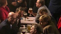 Macron et ses alliés européens boivent une bière à minuit (et on sait qui a payé