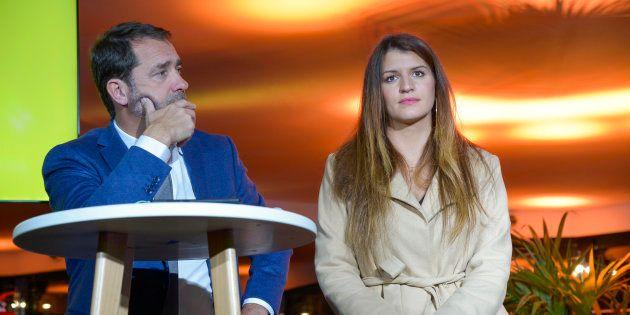 Après le remaniement et le départ de Christophe Castaner, Marlène Schiappa semble favorite pour prendre...