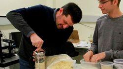 Ces chercheurs ont utilisé du riz soufflé pour leur étude sur les séismes de