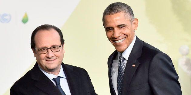 François Hollande et Barack Obama lors de la COP21 à
