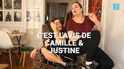 Camille et Justine se portent volontaires pour aider