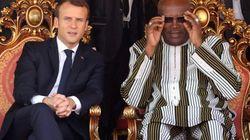 Le président burkinabé n'en veut pas à Macron pour sa blague sur la
