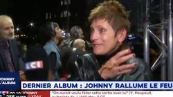 L'émotion des fans de Johnny à l'écoute des premières notes de son album