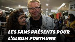 Les fans n'ont pas attendu pour acheter l'album posthume de Johnny