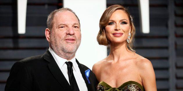 Affaire Weinstein: pour la première fois, la femme du producteur, Georgina Chapman, évoque le