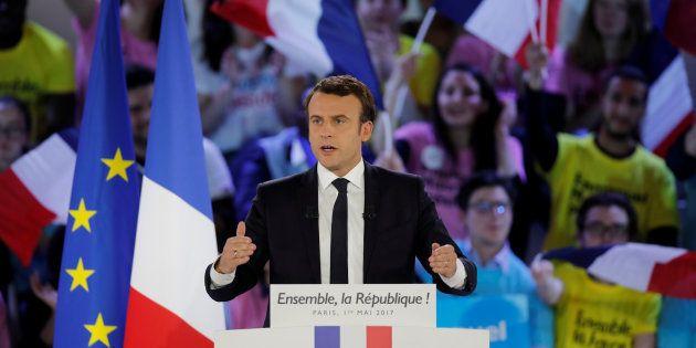 La République en Marche fondée par Emmanuel Macron avant la présidentielle se demande qui elle