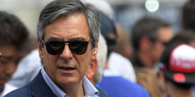 François Fillon au Mans le 16 juin
