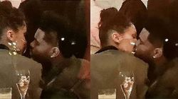 Bella Hadid et The Weeknd s'embrassent à