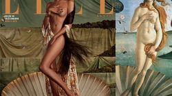 Elle Brésil recrée cinq œuvres d'art avec des vedettes