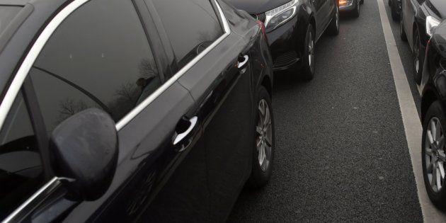 À Paris, un couple d'hommes frappé par leur chauffeur VTC. Photo