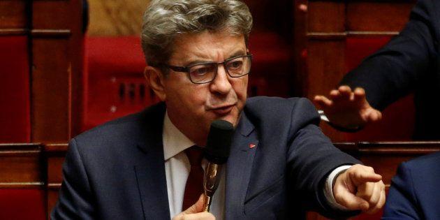 Mélenchon (ici à l'Assemblée nationale) appelle ses partisans