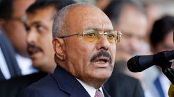 L'ex-président du Yémen Ali Abdallah Saleh a été