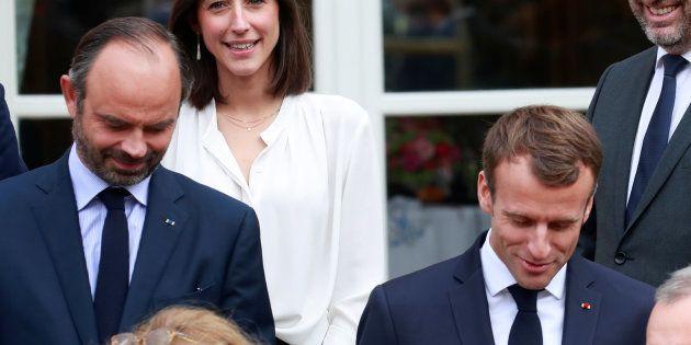 Emmanuel Macron et Edouard Philippe à l'Elysée le 17