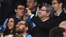 Mélenchon espère une place en tribune pour la finale de l'OM, Macron