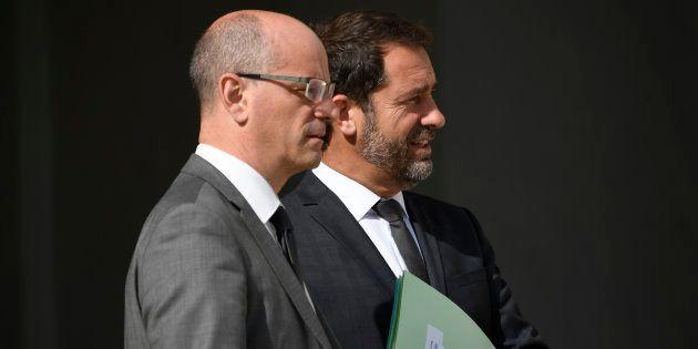 Créteil: Castaner et Blanquer