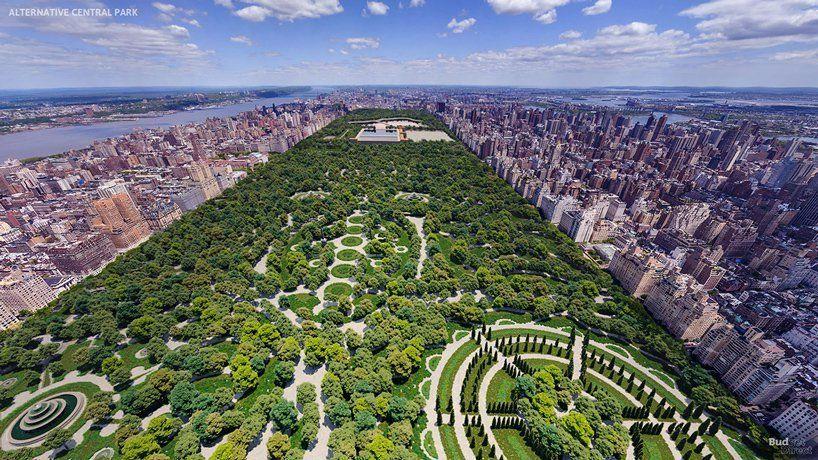 Central Park à New York aurait pu ressembler à