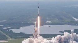 Lancement réussi pour la plus puissante fusée Falcon de