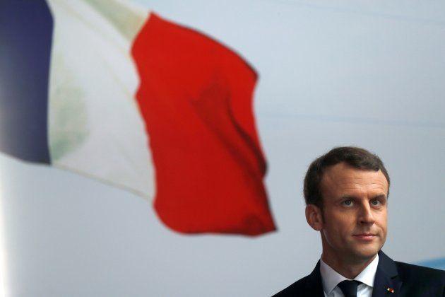 Emmanuel Macron à Abidjan le 30