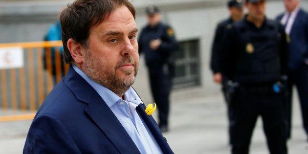 Élections régionales Catalogne: Oriol Junqueras fera sa campagne depuis la
