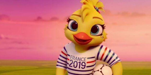 Ettie, la fille de Footix, est la mascotte du Mondial 2019 de football