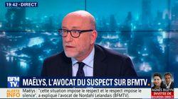 L'avocat du suspect dans l'affaire Maëlys assure que la silhouette filmée dans la voiture n'est pas celle de la