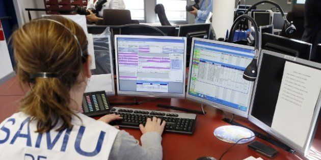 (Photo d'illustration: une opératrice du Samu de Paris, le 22 août