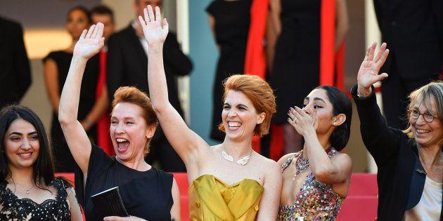 Festival de Cannes 2018: la musique de la montée des marches soutenait, elle aussi, la cause des femmes...