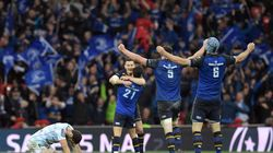Le Leinster champion d'Europe de rugby en battant le Racing 92 d'un