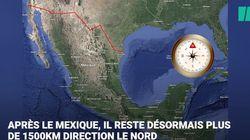 Cap au nord pour les milliers de Honduriens qui inquiètent tant Donald