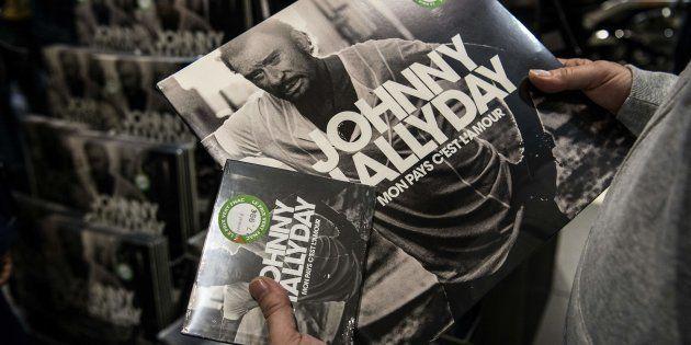 Le disque cd et vinyle de Johnny