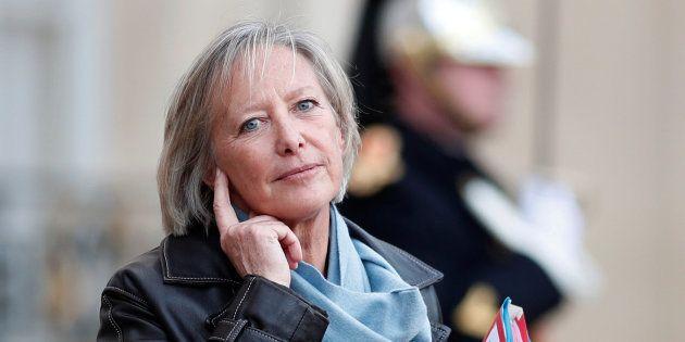 Sophie Cluzel après une réunion à l'Elysée, le 3 janvier 2018.