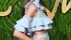 La fille de Cindy Crawford porte les robes à volants comme