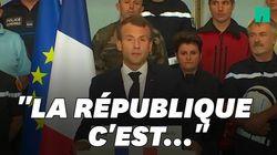 Macron a-t-il fait référence à Mélenchon dans son discours à