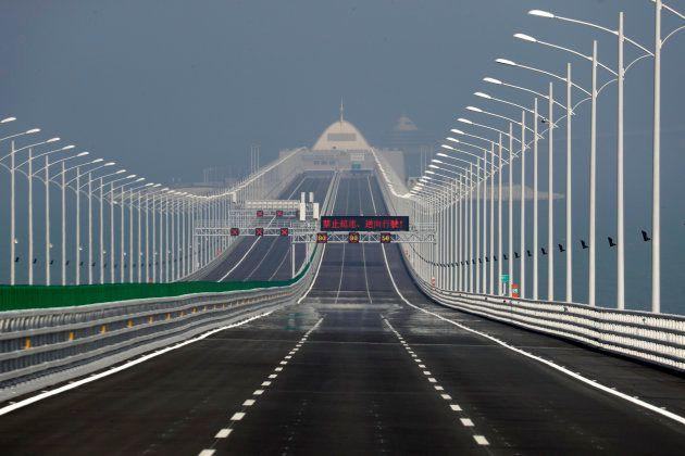 La Chine inaugure le plus grand pont maritime au