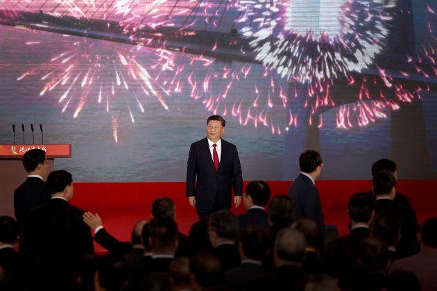 Le président chinois Xi Jinping ce mardi 23