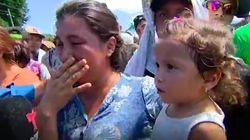 Au coeur de la caravane des migrants, cette femme raconte
